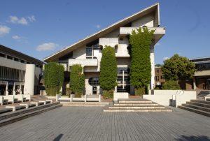 La bibliothèque des sciences située place des sciences.