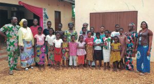 Orphelinat 'Espoirs d'enfant' au Benin