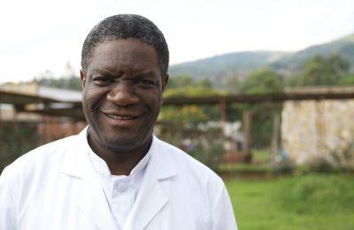 Photo portrait du Dr Mukwege