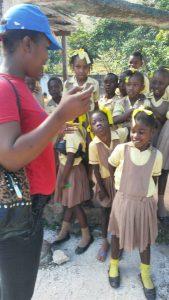 Education en Haiti - Eleves mixtes