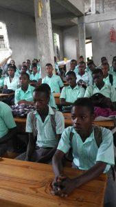 Education en Haiti - Grands élèves