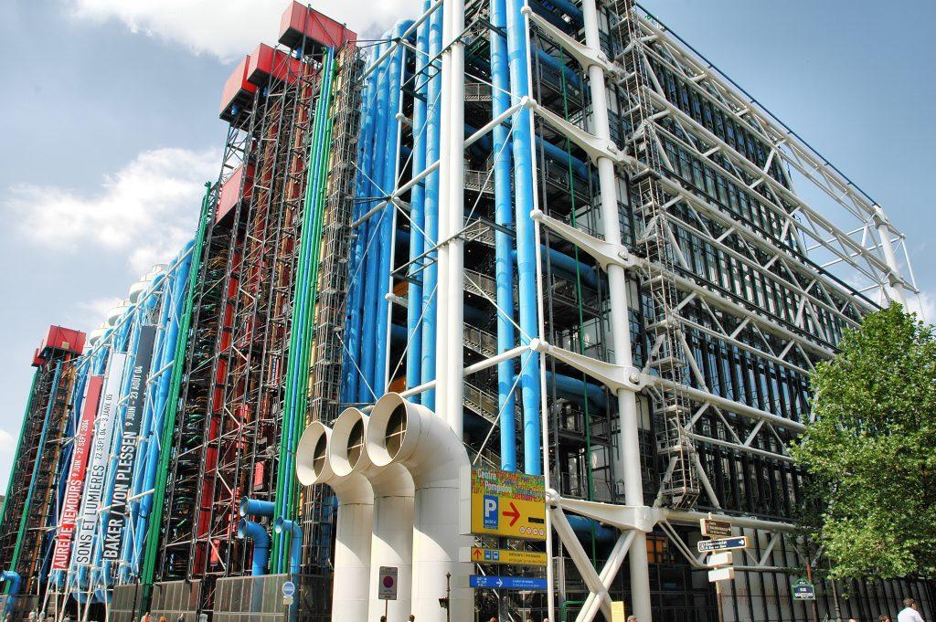 Photo du Centre Pompidou à Paris (bâtiment)