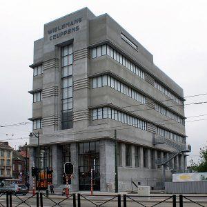 Le batiment du musée Wiels à Bruxelles